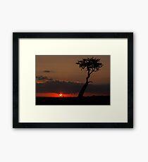 Mara Sunset Framed Print