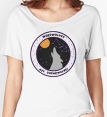 Camiseta ancha Hombres Lobo no Swearwolves
