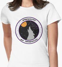 Werewolves Not Swearwolves Women's Fitted T-Shirt