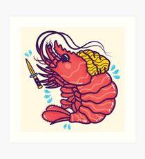 Shrimpuru Art Print