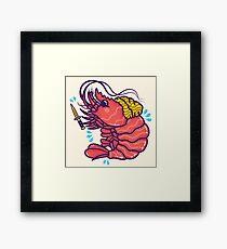Shrimpuru Framed Print
