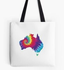 Australia Tie Dye Tote Bag