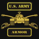 Army Armor T-Shirt by Walter Colvin