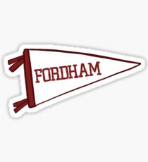 Fordham Flag Sticker