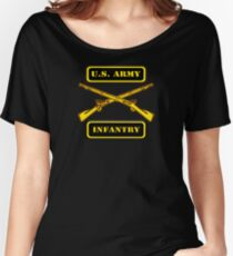 Army Infantry T-Shirt Women's Relaxed Fit T-Shirt