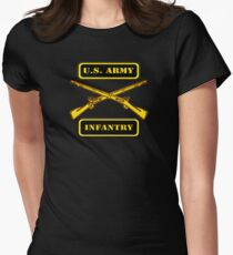 Army Infantry T-Shirt Women's Fitted T-Shirt