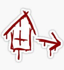 Left 4 Dead - Safehouse [red] Sticker