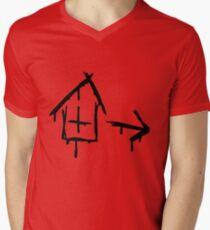 Left 4 Dead - Safehouse [black] Men's V-Neck T-Shirt