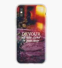 Devour All Who Stand In Your Way (Lakeshore) iPhone Case