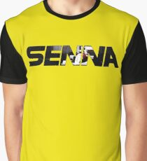 Senna F1 Graphic T-Shirt