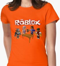 Roblox Friends Womens Fitted T-Shirt