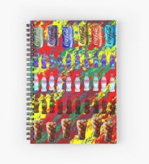 Coke Life, Happy Life Spiral Notebook