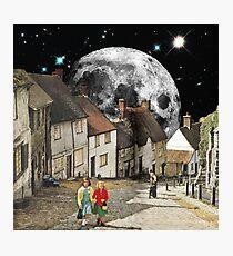 Agglican Lunar Photographic Print
