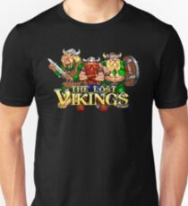 The Lost Vikings (Genesis Title Screen) Unisex T-Shirt