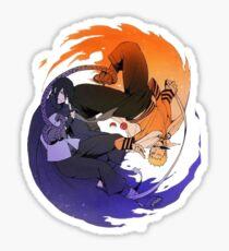 Naruto & Sasuke  Sticker