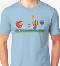 Hot Air Balloons T-Shirt. Unisex T-Shirt