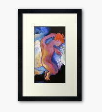 Detail, Boy Angel.  From Winken, Blinken, and Nod Framed Print
