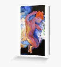 Detail, Boy Angel.  From Winken, Blinken, and Nod Greeting Card