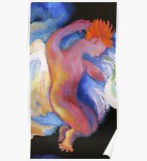 Detail, Boy Angel.  From Winken, Blinken, and Nod Poster