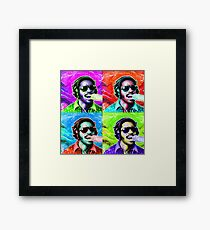 STEVIE WONDER! Framed Print