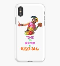 Time To Deliver A PIZZA BALL iPhone Case/Skin