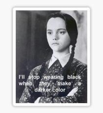 Wednesday Addams Quotes | Wednesday Addams Quote Stickers Redbubble