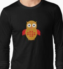 Yellow & Red Owl T-Shirt
