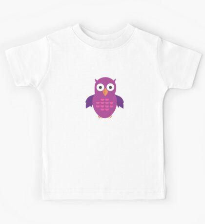 Purple & Purple Owl Kids Clothes
