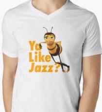 Ya Like Jazz? Men's V-Neck T-Shirt
