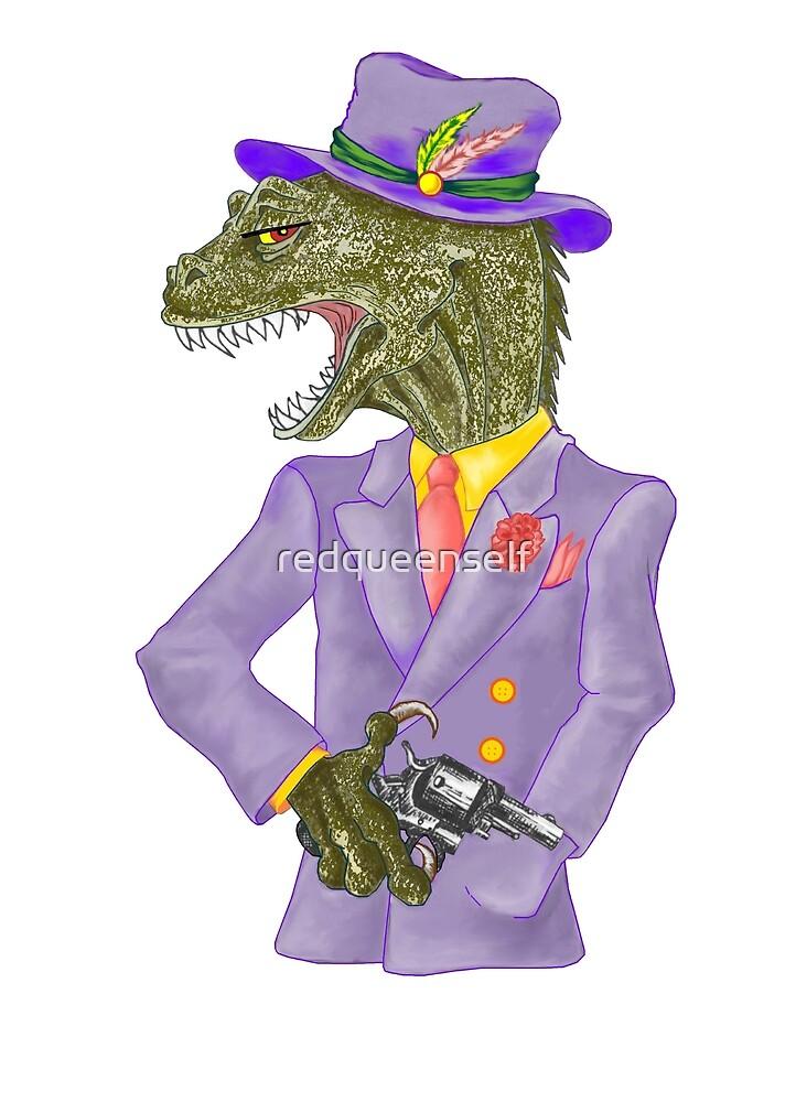 Sauvosaurus by redqueenself