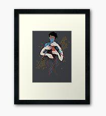 The Rush Framed Print