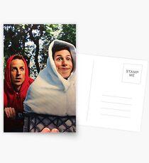 Andy Samberg and Seth Myers reenact E.T. Postcards
