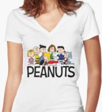 The Complete Peanuts Women's Fitted V-Neck T-Shirt