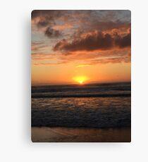 Sun Clouds Canvas Print