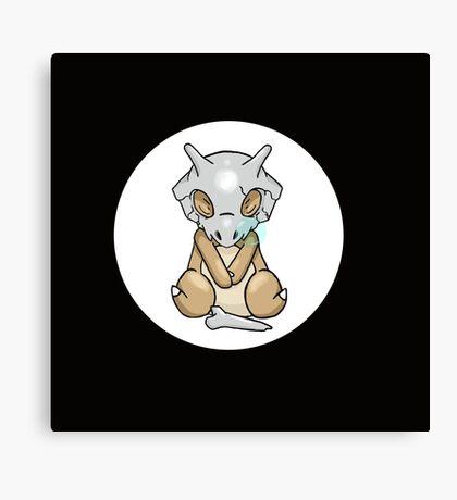 Cubone Sleeping Pokémon Canvas Print