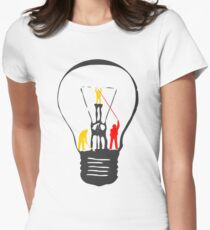 Bulb Women's Fitted T-Shirt