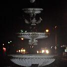 Darken Fountain  by MIchelle Thompson