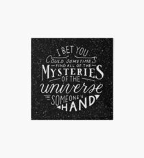 All of the Mysteries of the Universe Art Board