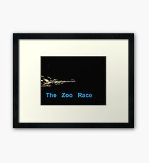 Zoo Rockets Framed Print