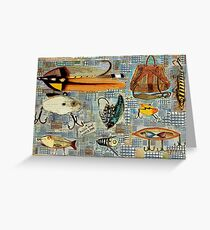 Time To Fish Greeting Card