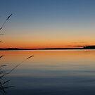 Drummond Island, MI  Sunset by Melissa Delaney
