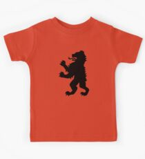 Bear heraldry Kids Tee