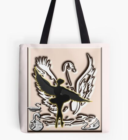 Black Swan Dancing (3397  views) Tote Bag