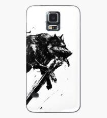 Funda/vinilo para Samsung Galaxy Gran lobo Sif