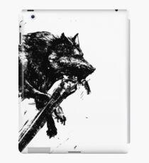 Großer Wolf Sif iPad-Hülle & Klebefolie