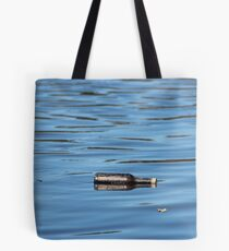 Bottle reflection Tote Bag