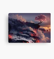 Japanese cherry blossom Canvas Print