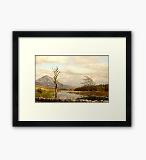 Mount Errigal From The Lodge Framed Print