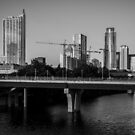 City of Austin is Under construction so many Cranes by Roschetzky