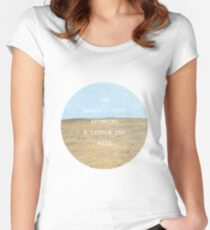 A Little Too Fast Women's Fitted Scoop T-Shirt